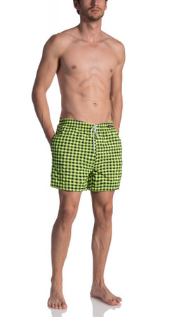 Olaf Benz BLU1660 Shorts check citro  – Bild 3