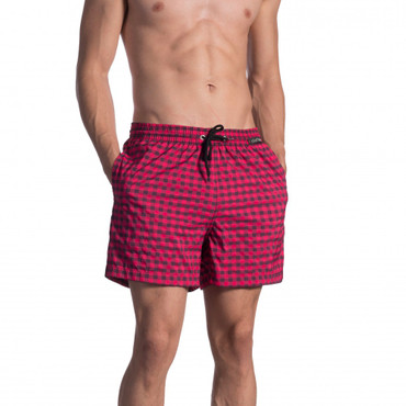 Olaf Benz BLU1660 Shorts check cassis