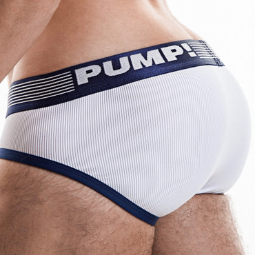 Pump! Ribbed Brief navy – Bild 2