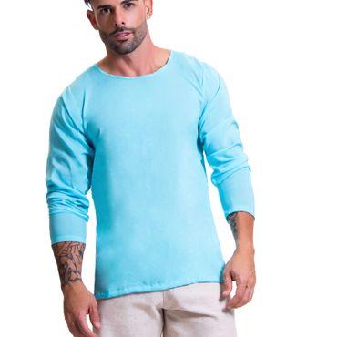 JOR 0607 Baru T-Shirt Longsleeve blau – Bild 1