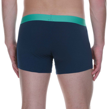 Bruno Banani Short 2Pack Flowing petro/mint – Bild 5