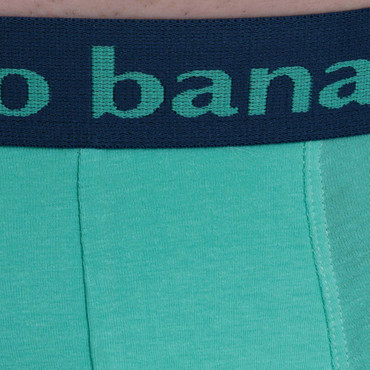 Bruno Banani Short 2Pack Flowing petro/mint – Bild 8