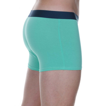 Bruno Banani Short 2Pack Flowing petro/mint – Bild 10