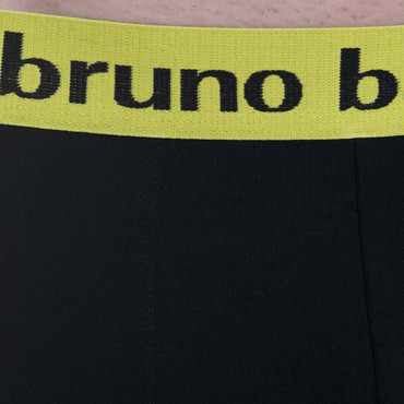Bruno Banani Short 2Pack Flowing lime/schwarz – Bild 4
