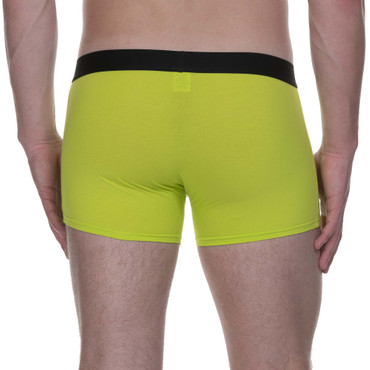 Bruno Banani Short 2Pack Flowing lime/schwarz – Bild 9