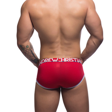 Andrew Christian CoolFlex Active Brief w/ Sho-it rot – Bild 6