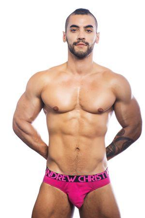 Andrew Christian 90934 Almost Naked Premium Brief fuchsia – Bild 2