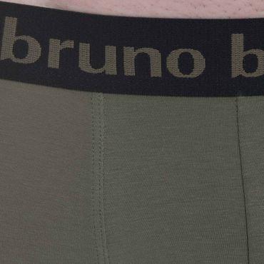 Bruno Banani Short 2Pack Flowing oliv/schwarz – Bild 8