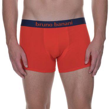 Bruno Banani Short 2Pack Flowing marine/tomatenrot – Bild 7