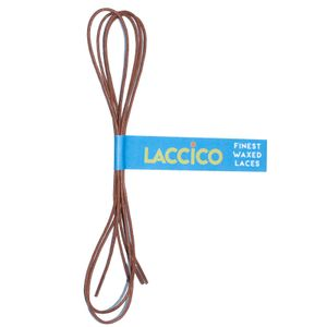 LACCICO® Light Brown Round Ø 1,5 mm 'Cerato' Waxed Shoelaces