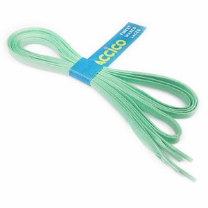 MINT flat waxed shoelaces width 6 MM
