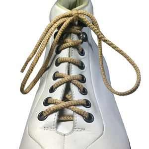 LACCICO® Beige Round Waxed Shoelaces Diameter Ø 4.0 mm 'Cerato' – image 2