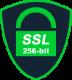 256bit SSL-Verschlüsselung im elektronischen Bestellprozess