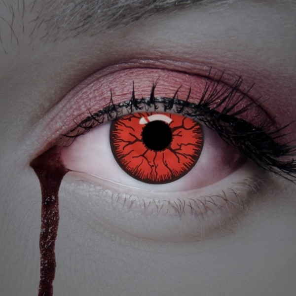 Colored contact lenses - Cold Blood