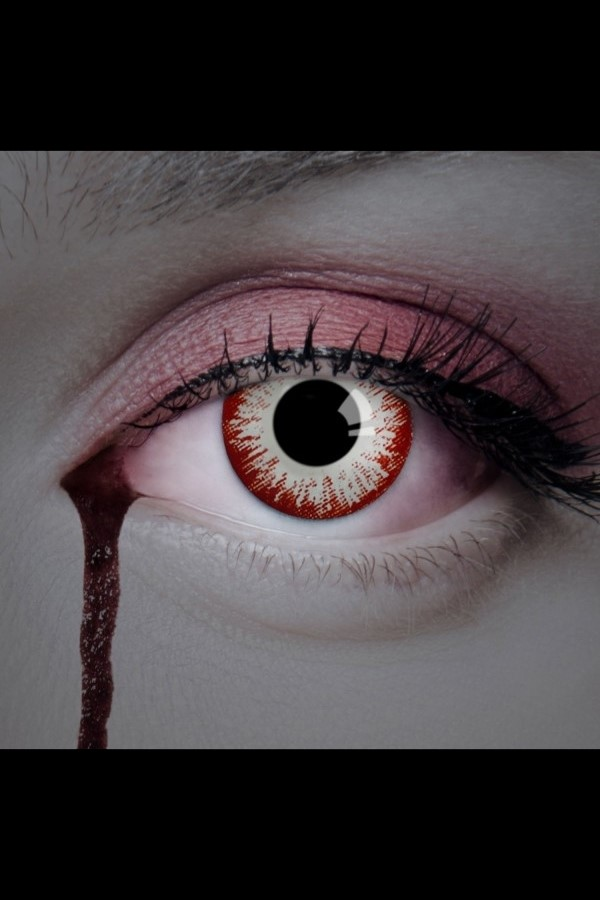 Colored Contact Lenses - White Explosion
