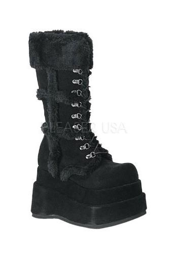 DEMONIA - platform boots BEAR-202