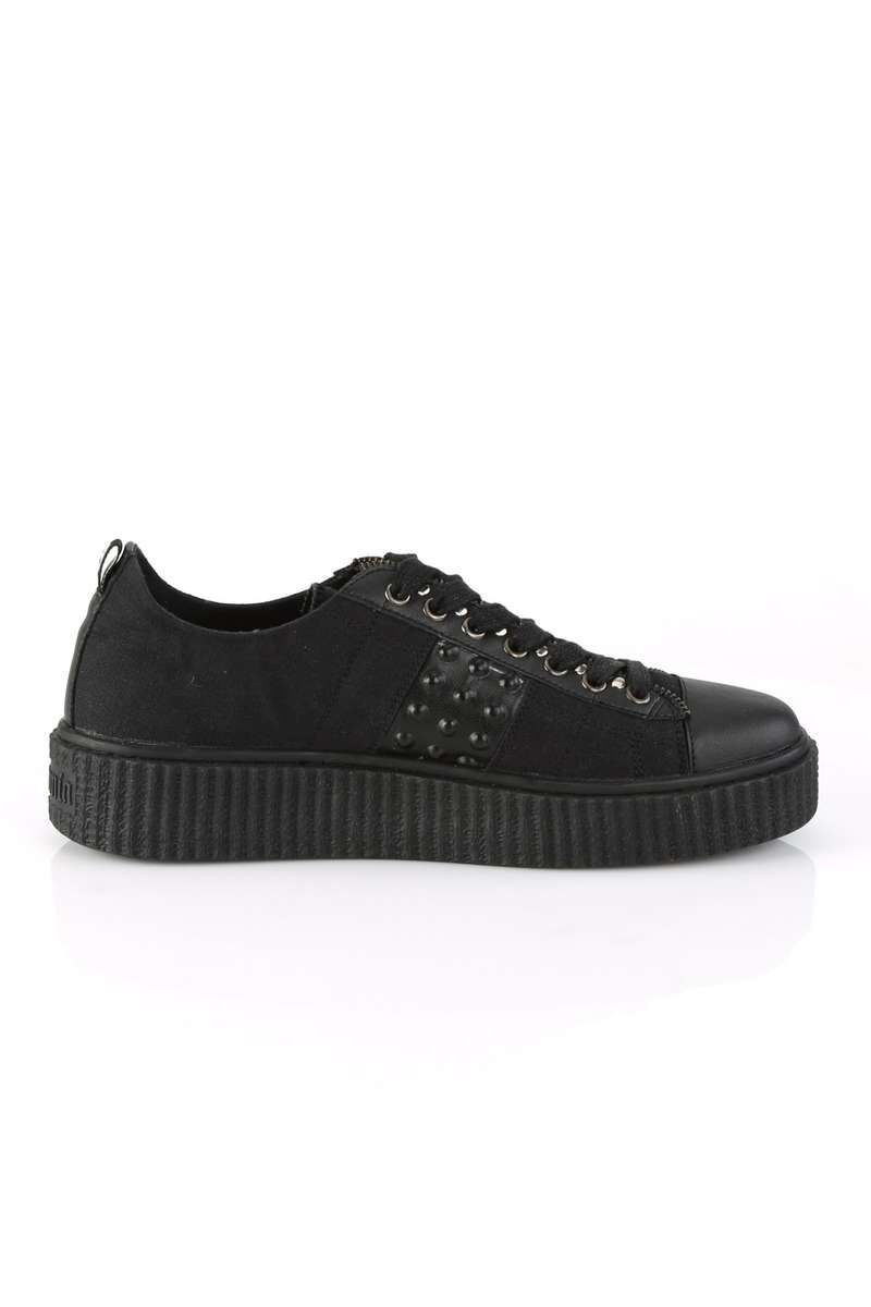 DEMONIA SNEEKER-107 low shoes with creeper sole