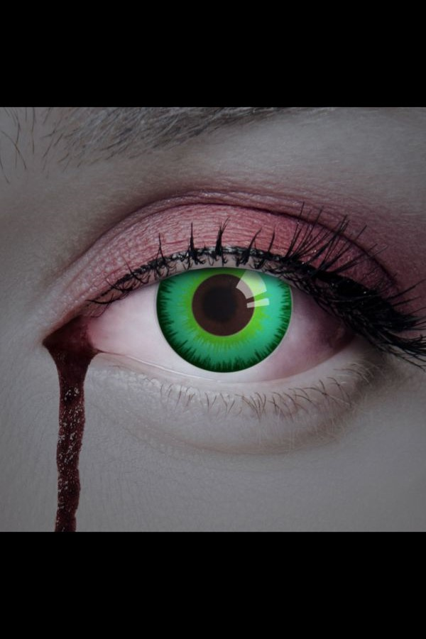 Colored contact lenses Magic Green Eye