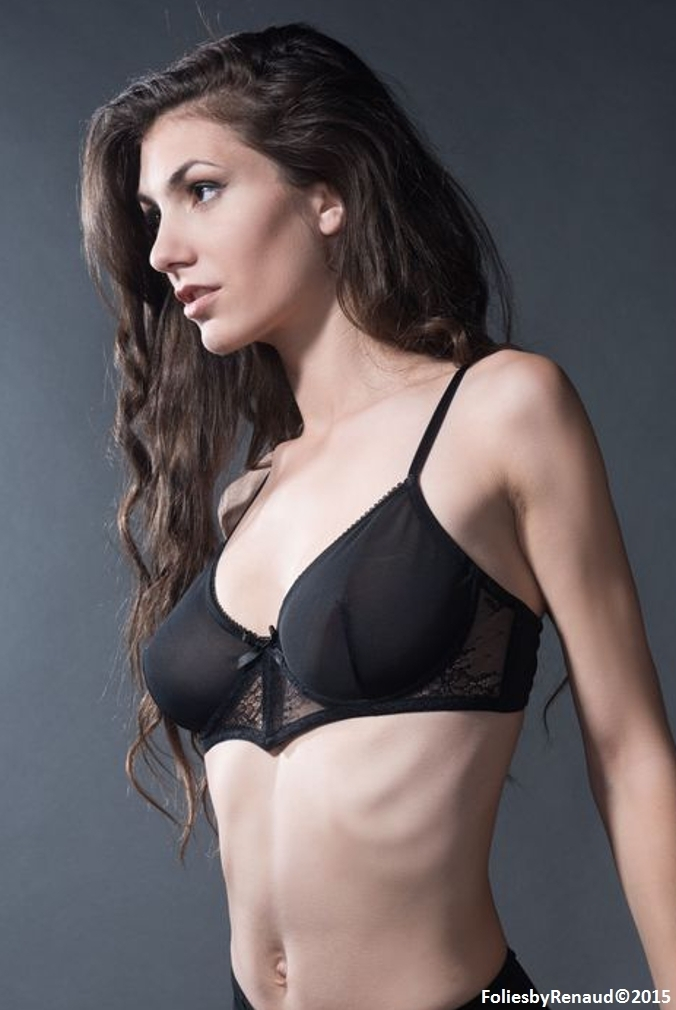 Folies by Renaud - Bra with lace Margaux