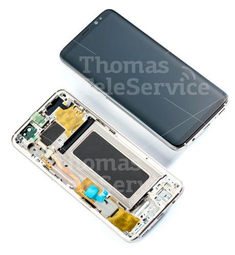Galaxy S8 G950f Gold LCD Display Touchsreen Digitizer Bildschirm gold GH97-20457F