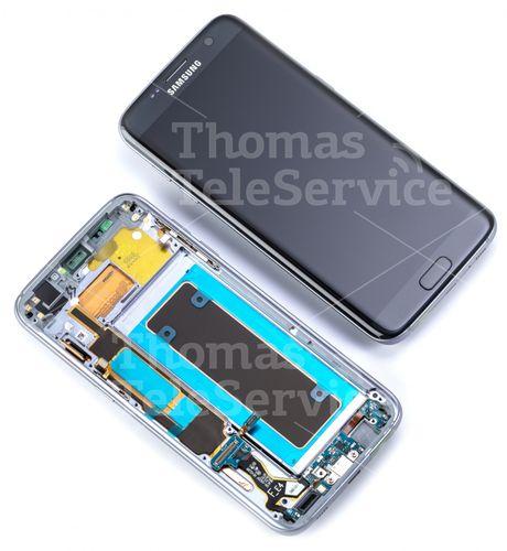 Display Reparatur Samsung Galaxy S7 Edge G935f Black Schwarz