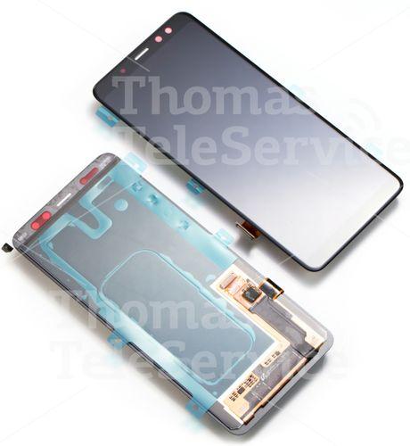 Samsung Galaxy A8 a530f LCD Display Touchsreen Digitizer Bildschirm black schwarz GH97-21406A