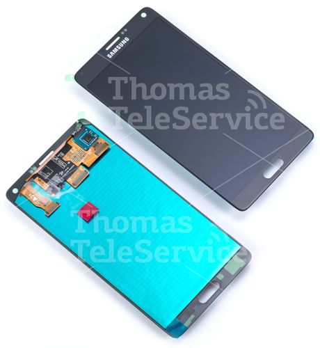 [A301] [C046] - N910f Galaxy Note 4 Display - SCHWARZ GH97-16565B