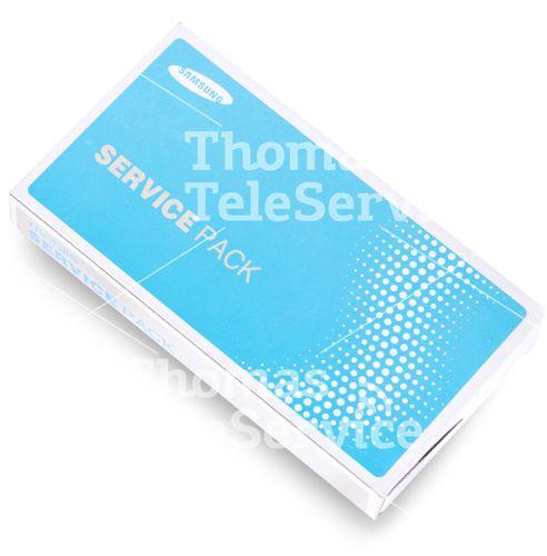 [A008] - Note 2 N7100 Display + Rahmen WEISS GH97-14112A  – Bild 2