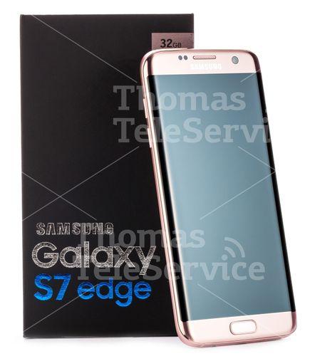 [F023] Samsung Galaxy S7 Edge Pink Smartphone