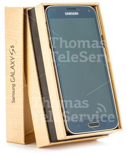 [3p046] S5 G900f Black Smartphone