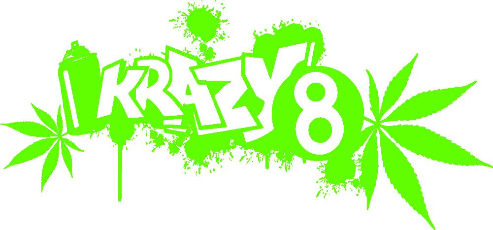 Krazy 8 Headshop, Growshop, Graffiti-Künstlerbedarf