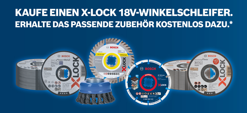 Bosch PRO DEAL X-LOCK