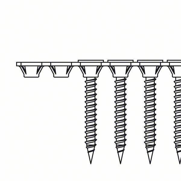 3,9 x 25 mm BOSCH Schnellbauschraube Grobgewinde S-G 2608000547