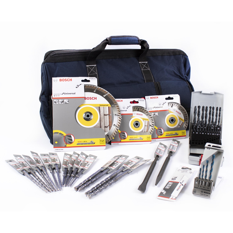 Bosch Professional 26 Tlg Aktions Set 06159975l1 Fur Den Bau In