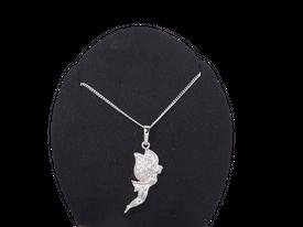 Elegante Halskette 'Fee' - Zirkonia Strass
