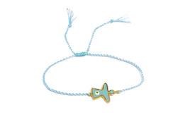 Wunderschönes Armband Blau Engel Auge - verstellbare Größe – Bild 1