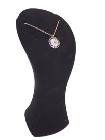Orientalisches Halskette - Blaues Auge Rosegold Farbe – Bild 3
