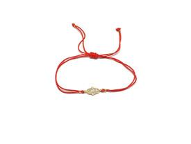 Armband Armkette mit Fatimas Hand - Hamsa - verstellbare Länge  – Bild 1