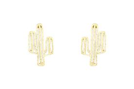 Remi Bijou Beautiful earrings ear studs 'Cactus' – Bild 3