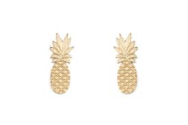 Remi Bijou - Exotische Ohrstecker Ohrringe 'Ananas' – Bild 3