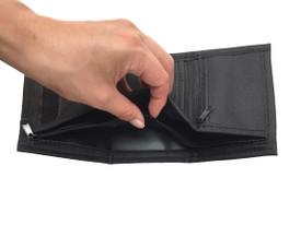 """Geldbörse """"Göktürk"""" für Herren – unisex - Stoff, Portemonnaie, Börse, Brieftasche, Querformat, 8,5 cm x 12,5 cm x 2 cm – Bild 5"""