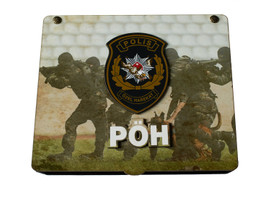 "Schatulle Box ""PÖH"" Polis Özel Harekat - Handgemacht – Bild 1"