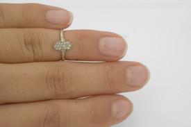Remi Bijou Ring Miniring für Fingerspitzen Fatimas Hand Hamsa – Bild 7
