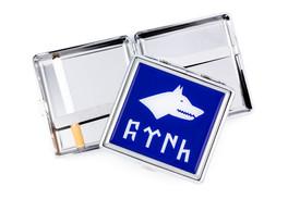 Gök-Türk Zigarettenetui Kasten Taschen Behälter Halter - Wolf Bozkurt Ertugrul Alttürkisch – Bild 3