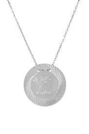 Remi Bijou 925 Silber Halskette mit Anhänger 'Allah' Muslim Islam – Bild 1