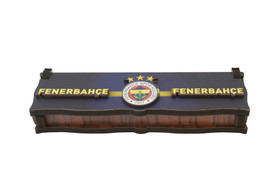 """Gök-Türk Box Schatulle MIT GRAVUR aus Holz Handgemacht & 925 Sterling Silber Tesbih Gebetskette """"Fenerbahce"""" für Fußballfans – Bild 4"""