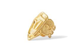 """Gök-Türk Ring für Herren """"IYI"""" Ertugrul Halbmond Ay Yildiz - verstellbare Größe - goldfarben – Bild 2"""