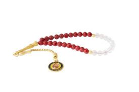 Gök-Türk Gebetskette - Tesbih Galatasaray GS für Fußballfans - rot – Bild 1