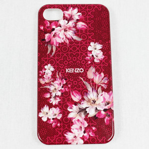 KENZO Cover für iPhone 4 / 4S Hardcase Handyschal​e Hard Case 4s Hülle