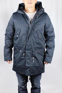 Elvine Winterjacke aktuelles Modell Clark dark navy Jacke Mantel Mens jacket 143033
